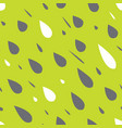 rain drops seamless pattern vector image