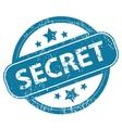 SECRET round stamp vector image