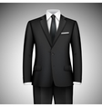Businessman suit vector image