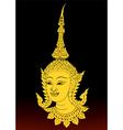 Angle thai motifs vector image