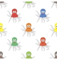 Octipus Animal Seamless Pattern vector image