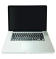 Notebook computer vector image vector image