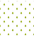 birch tree pattern seamless vector image