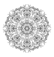 Graphic water circle ornament vector image
