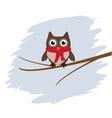 owl card vector image
