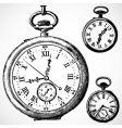 Retro watches vector image