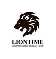 Lion head icon symbol logo Design Element vector image