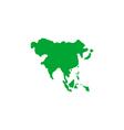 Asia Icon vector image