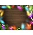 Holidays with Christmas decor EPS 10 vector image