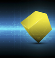 square metric concept technology vector image