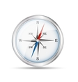 Glossy Realistic Compass vector image