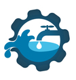 Repair plumbing business vector image
