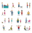 People Lifestyle Icon Set vector image