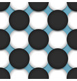 colored circle seamless pattern shape art vector image