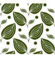 delightful garden seamless pattern vector image