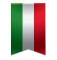 Ribbon banner - hungarian flag vector image