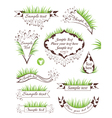 Milk banners collection vector image