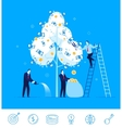 teamwork Businessman vector image vector image