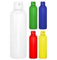 shampoo bottle vector image
