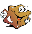 an Happy Candy Caramel Toffee vector image