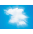 cloud beam vector image vector image