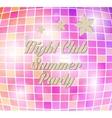 disco party flyer vector image