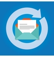 email automatic auto reply response icon send vector image
