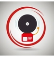 alarm fire system emergency vector image