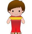 Poppy Spain Boy vector image vector image