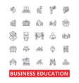business education mba training coaching vector image
