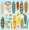 surfboard clipart vector image
