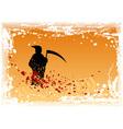 black reaper vector image