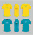 mens tshirt design template vector image