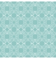 Sea Green Abstract Drawing Seamless Pattern vector image