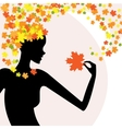 Fashion beauty nature vector image