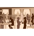 Lively pub vector image