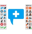 Medical Answer Icon vector image