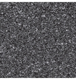 White noise on black background vector image vector image