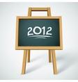 chalkboard background vector image vector image