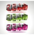 calendar design 2012 vector image