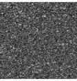 White noise on black background vector image