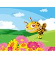 A bee vector image