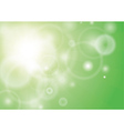 Green spring for background vector image