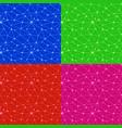 neurons web seamless patterns vector image