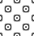 speaker seamless pattern vector image
