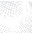 white halftone background vector image vector image