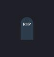 Grave computer symbol vector image