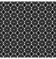 white flower in circle japanese seamless on black vector image