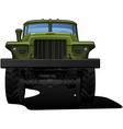 off highway truck vector image