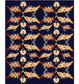 decorative oriental pattern vector image